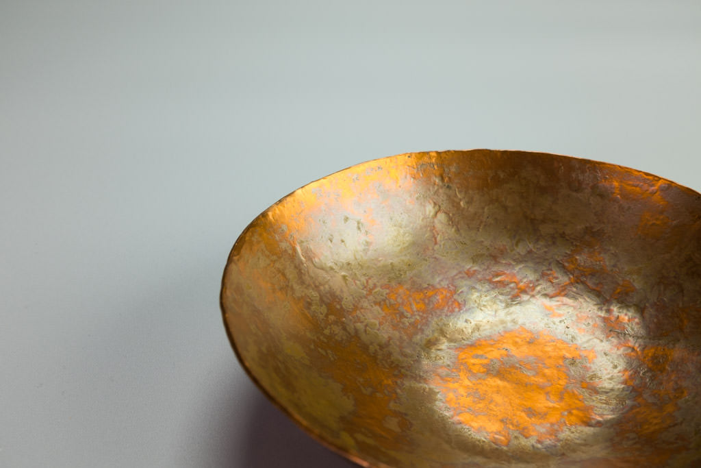 Patina Bowl in Copper