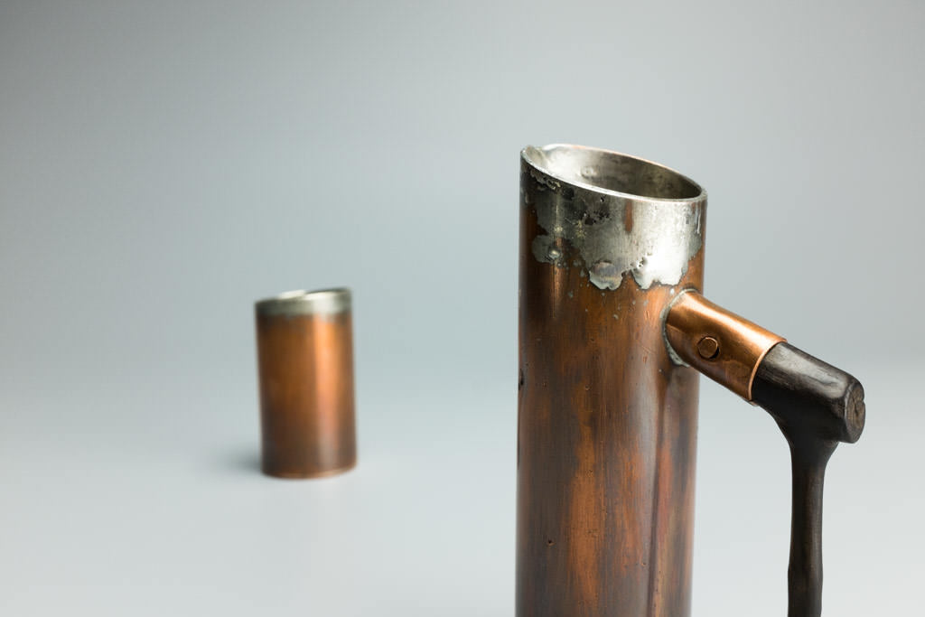 Copper Sake Set