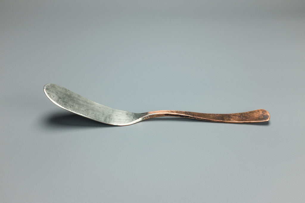 Tinned Copper Butter Knife