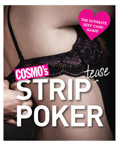 Cosmo's Strip Tease Poker Card Game