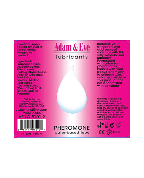 Adam & Eve Liquids Pheromone Water Based Lube
