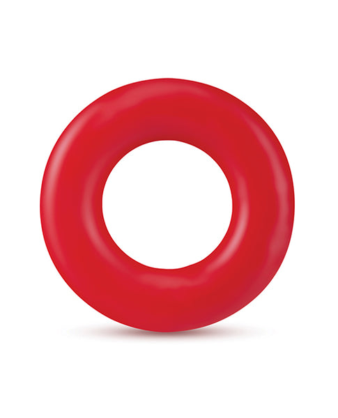 Blush Stay Hard Donut Rings - Red Pack of 2