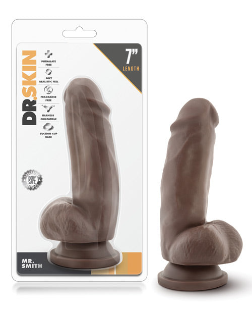 "Blush Mr. Skin 6"" Dildo w/Suction Cup - Mr. Smith"