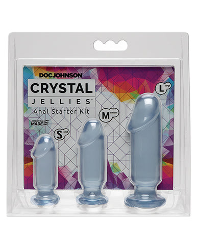 Crystal Jellies Anal Starter Kit