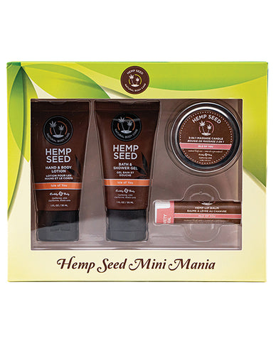 Earthly Body Hemp Seed Mini Mania Kit - Isle of You