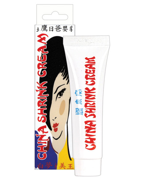 China Shrink Cream Soft Packaging - .5 oz