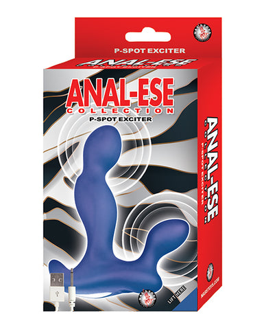 Anal-Ese P-Spot Exciter - Blue