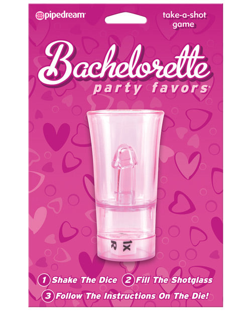 Bachelorette Party Favors Take-A-Shot Drinking Game