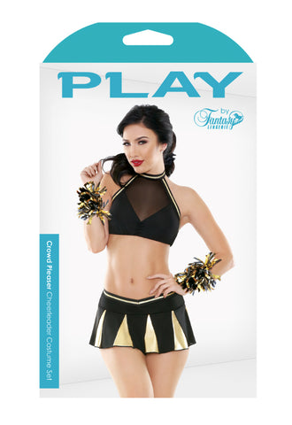 Crowd Pleaser Cheerleader Costume Set