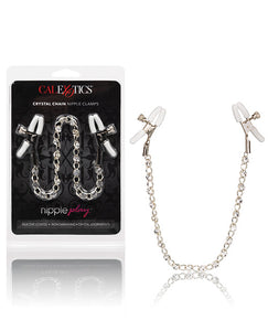 Nipple Play Crystal Nipple Clamps