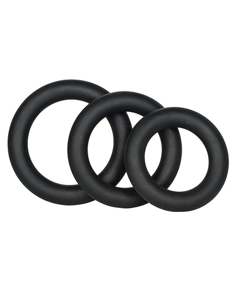 Dr Joel Silicone Support Rings - Black