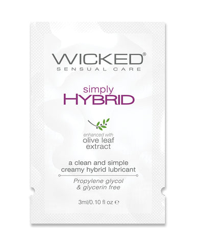Wicked Sensual Care Simply Hybrid Lubricant