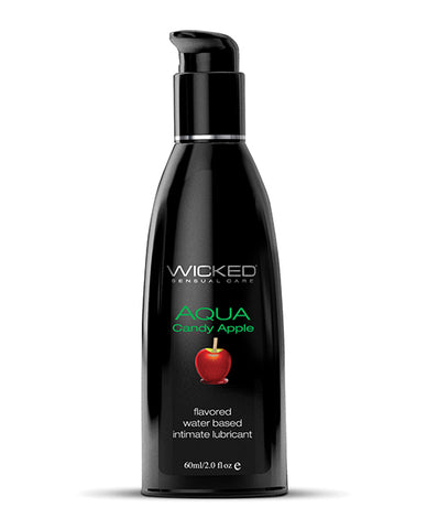 Wicked Sensual Care Aqua Water Based Lubricant - 2 oz
