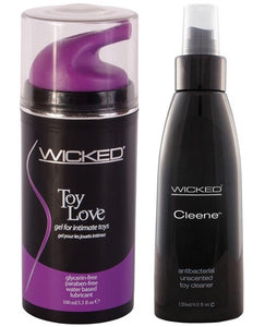 WB Wicked Gel Lube and Spray Cleanser Bundle