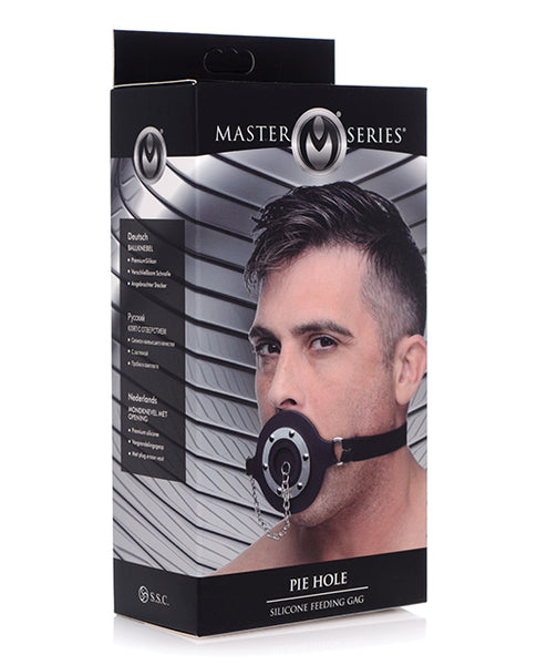 Master Series Pie Hole Silicone Feeding Gag