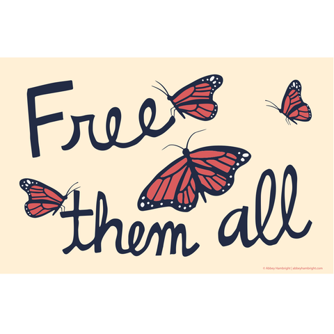 """Free Them All"" Free Poster Download"