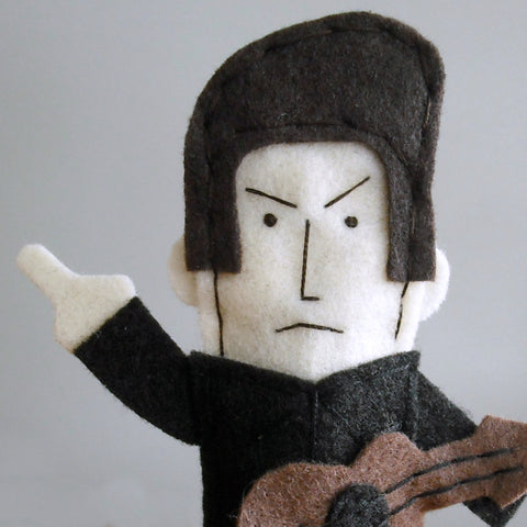 Johnny Cash Finger Puppet