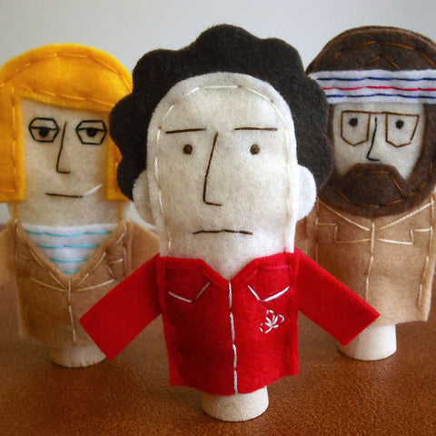 Royal Tenenbaums Finger Puppets