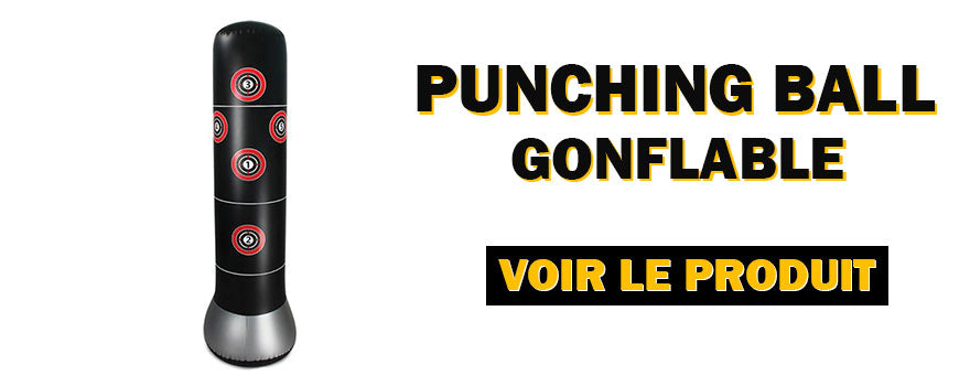 punching-ball gonflable
