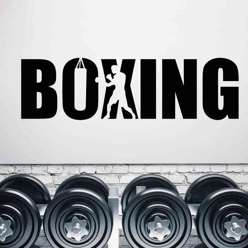 Stickers Boxe Anglaise