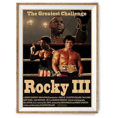 Poster Rocky The Greatest Challenge-GNAK Boxing