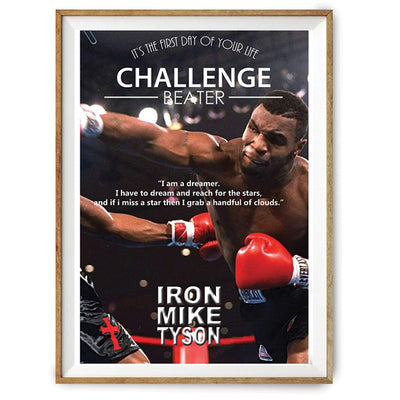 Poster Mike Tyson Motivation-GNAK Boxing