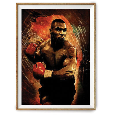 Poster Mike Tyson-GNAK Boxing