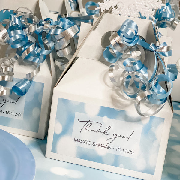 OH BABY ITS COLD OUTSIDE BABY SHOWER FAVOUR BOX