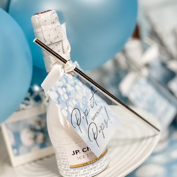 OH BABY ITS COLD OUTSIDE BABY SHOWER THANK YOU FAVOUR TAGS