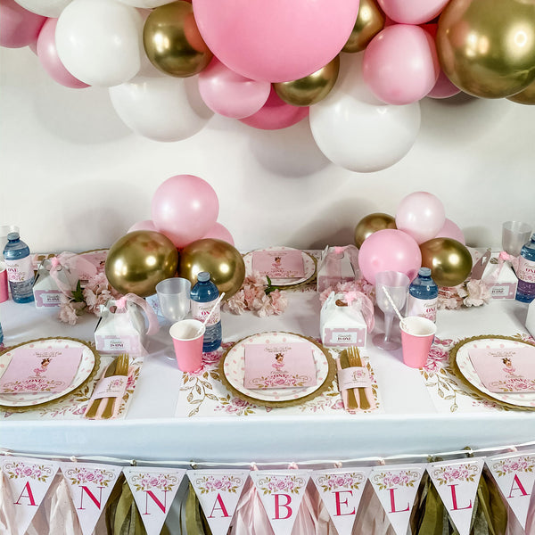 BALLERINA PRINCESS FIRST BIRTHDAY