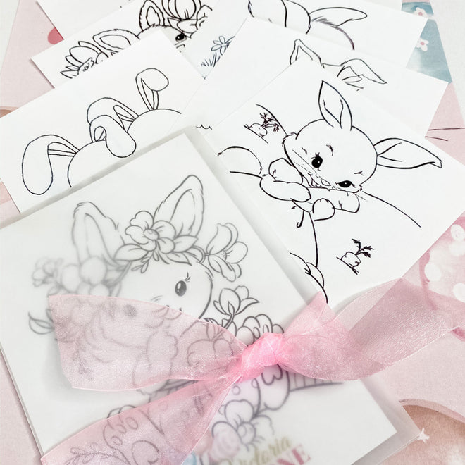 Kids Colouring Favor Kits