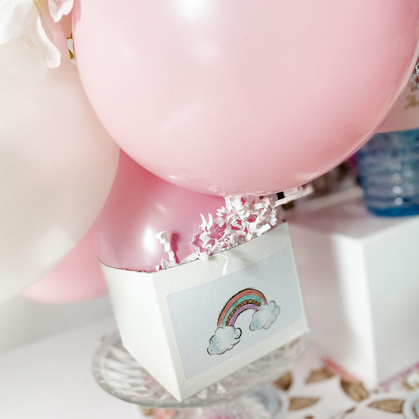 UNICORN MAGICAL FIRST BIRTHDAY BALLOON CENTREPIECE