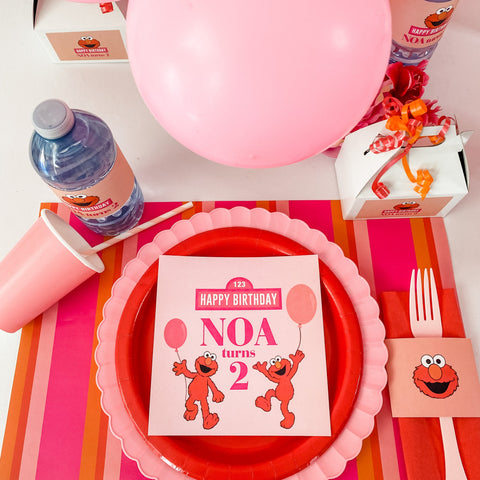 ELMO GIRLY GIRL BIRTHDAY