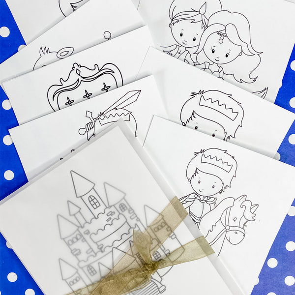 LITTLE PRINCE ROYAL CROWN COLOURING SET