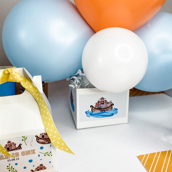 NOAH'S ARK BIRTHDAY BALLOON CENTREPIECE