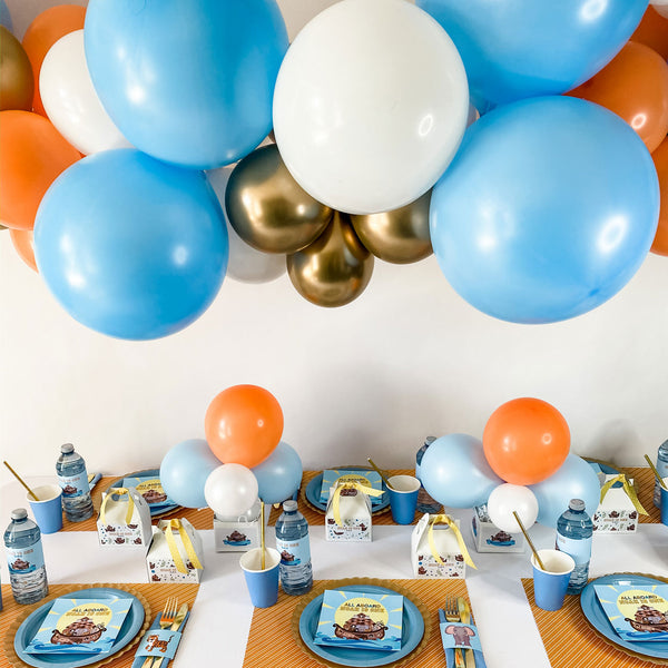 NOAH'S ARK BIRTHDAY, 1ST BIRTHDAY PERSONALIZED PARTY IN A BOX