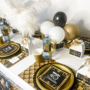 FORTY & FABULOUS GATSBY BIRTHDAY FOR WOMEN