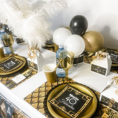 FORTY AND FABULOUS GATSBY BIRTHDAY FOR WOMEN   PERSONALIZED PARTY IN A BOX