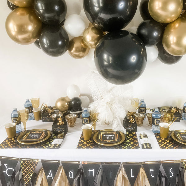 The Great Gatsby roaring 20's … 6 foot BALLOON GARLAND KIT