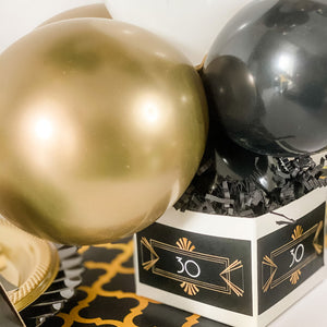 The Great Gatsby roaring 20's … BIRTHDAY PARTY  BALLOON CENTREPIECE FOR TABLE