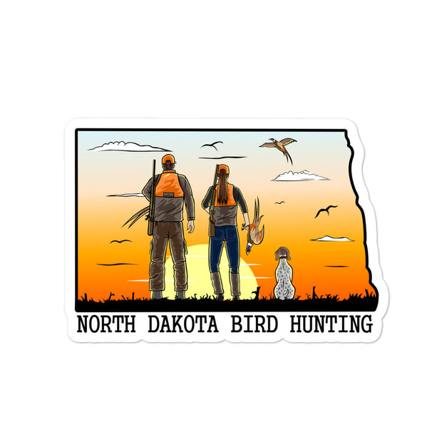 ND Bird Hunting 2 Bubble-free stickers