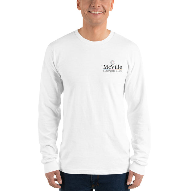 McVille Country Club long sleeve shirt