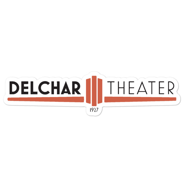 Delchar Theater Bubble-free stickers