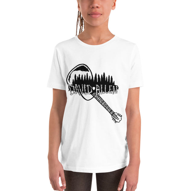 David Allen Music youth cotton t-shirt