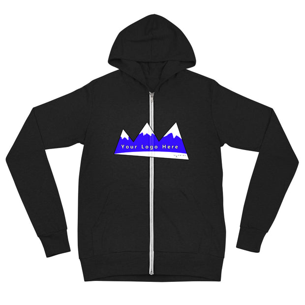 ADDITIONAL MOCKUP -- Unisex zip hoodie