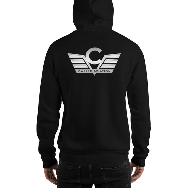 Casper Aviation Heavy Blend Unisex Hoodie