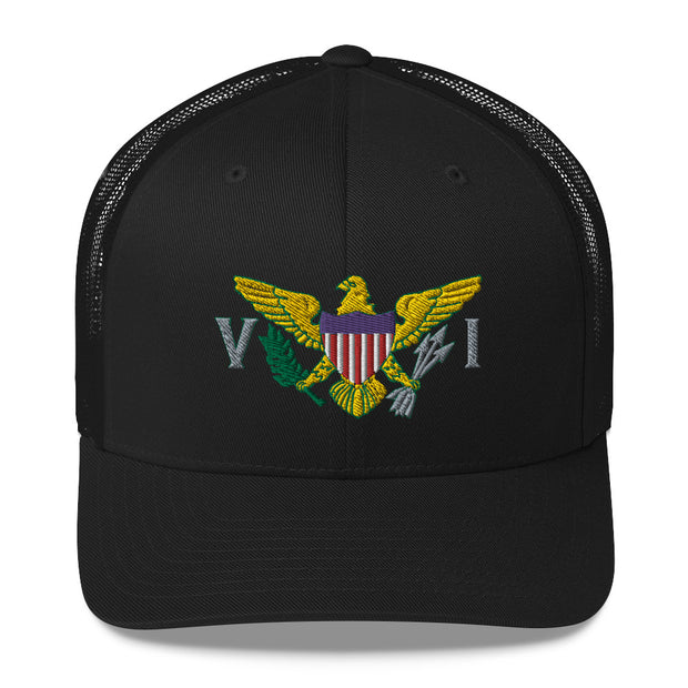 Virgin Islands Flag Trucker Cap