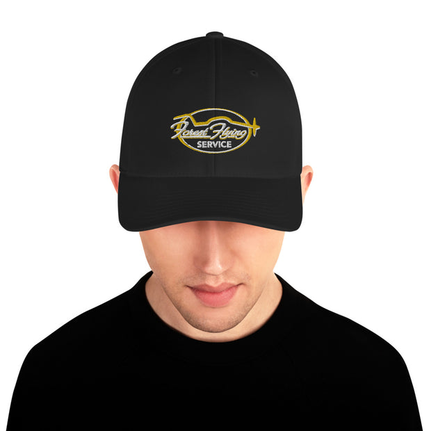 Forest Flying Service Fitted Cap
