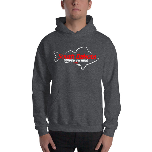 South Dakota Guided Fishing Heavy Blend Unisex Hoodie