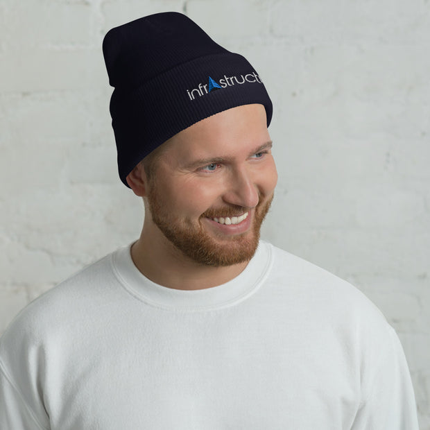 Infrastructurer Design Group Cuffed Beanie